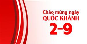 CS-Solution thông báo lịch nghỉ lễ Quốc Khánh 02/09 năm 2019